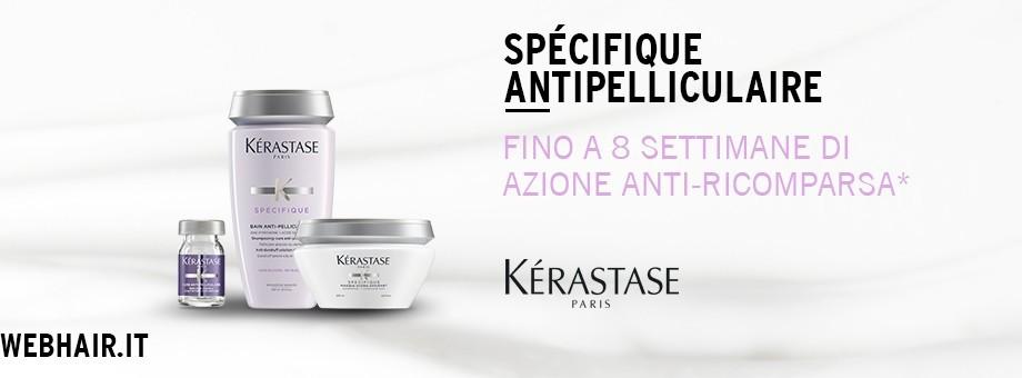 Scopri i prodotti Kérastase della linea Specifique Antipelliculaire